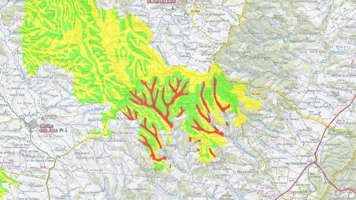 Estudi d'impacte ambiental per els regadius de Terra Alta