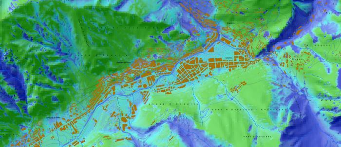 Gestió i l'organització de les dades SIG del Departament de Medi Ambient del Govern d'Andorra