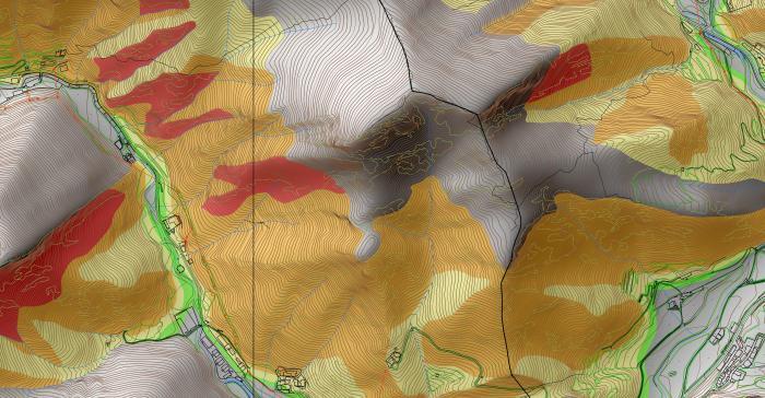 Zonificació de riscos geològics a Andorra